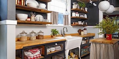 Các bà mẹ không nên bỏ qua 7 thủ thuật thông minh trong nhà bếp nhỏ