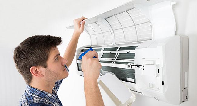 Cách khử mùi hôi trong phòng máy lạnh