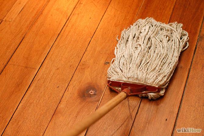 Kinh nghiệm về cách lau sàn gỗ và lựa chọn nước lau sàn nhà sạch, không bị hỏng