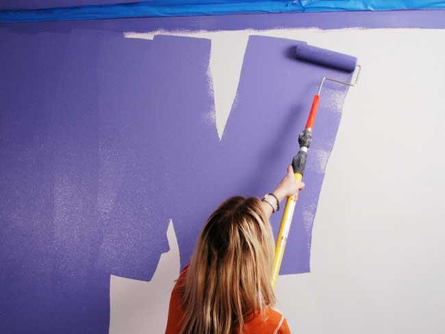 Tự sơn nhà với các bước giúp tiết kiệm chi phí